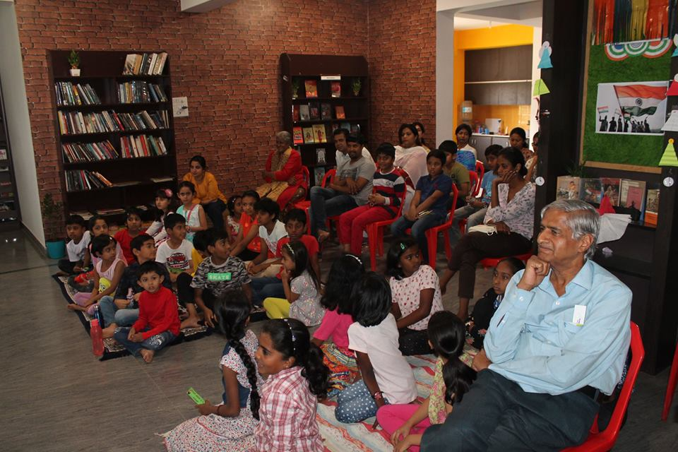 audience at JustBooks Sahakarnagar