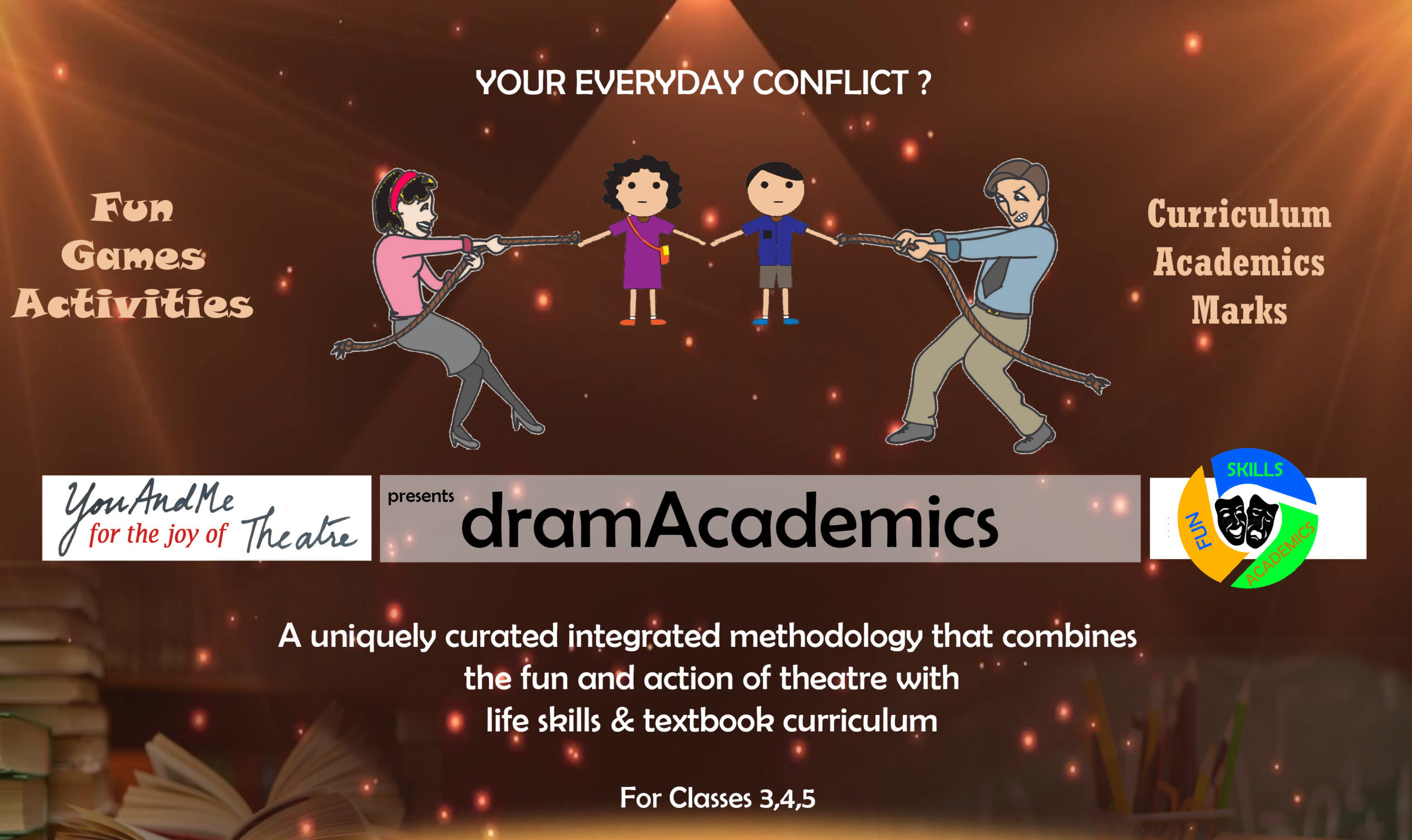 Poster for dramAcademics program